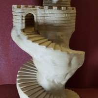 Small Spiral tower 3D Printing 24842