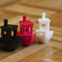 Small #3DBenchy - The jolly 3D printing torture-test 3D Printing 2486