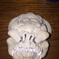 Small Rancor head 3D Printing 24888