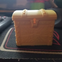 Small Tresure Chest Dice Case 3D Printing 24933
