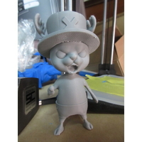Small Chopper Onepiece 3D Printing 24937