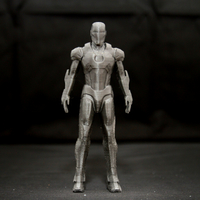 Small Iron Man Mark 7 3D Printing 24963