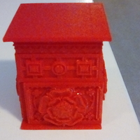 Small The Tudor Rose Box (with secret lock) 3D Printing 24987