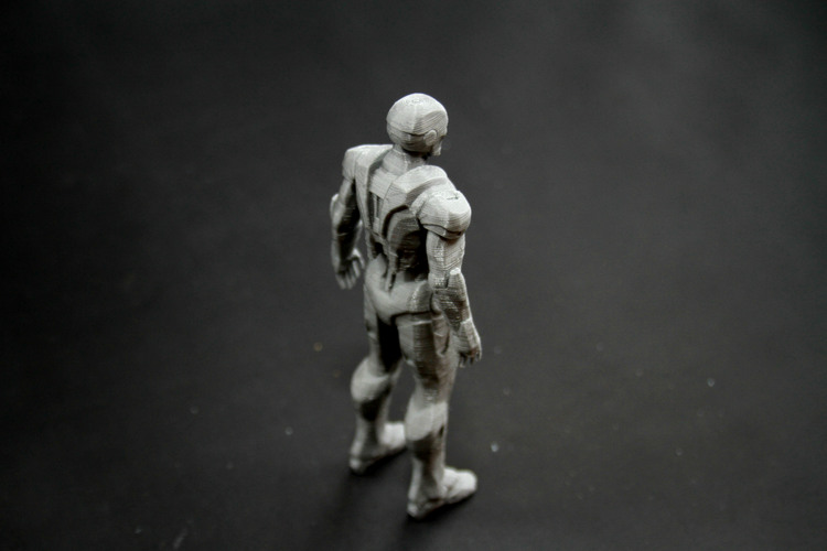 Iron Man Mark 7 3D Print 25006