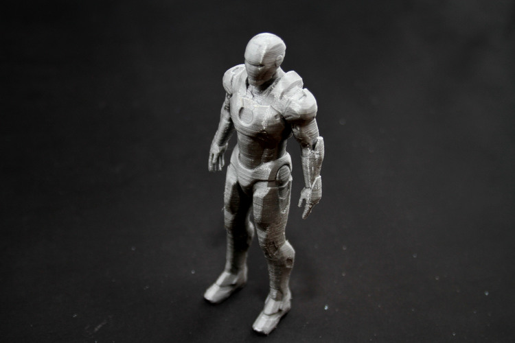 Iron Man Mark 7 3D Print 25007
