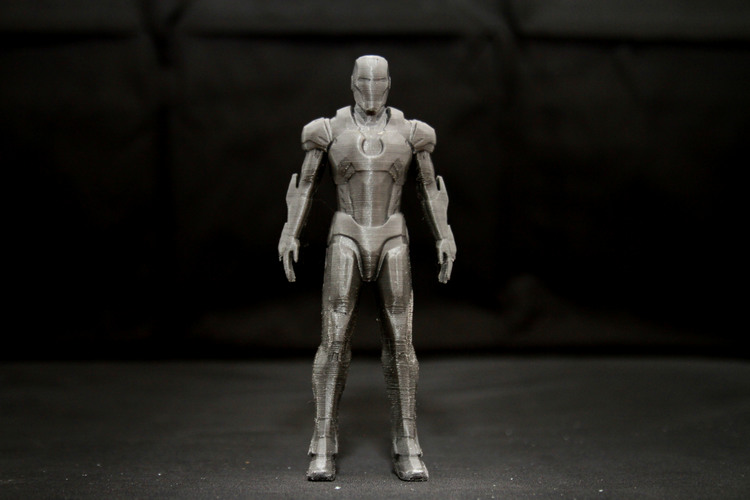 Iron Man Mark 7 3D Print 25009