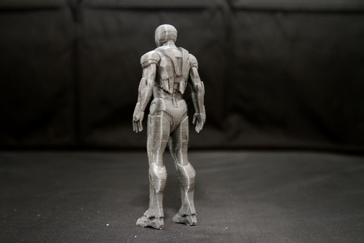 Iron Man Mark 7 3D Print 25011