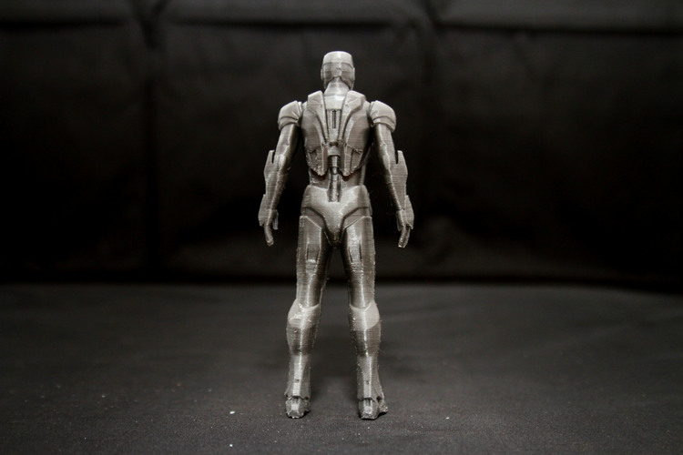 Iron Man Mark 7 3D Print 25012