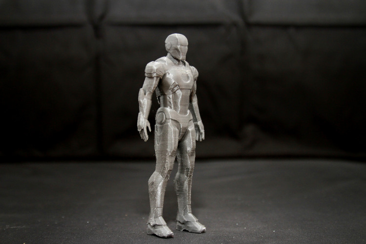 Iron Man Mark 7 3D Print 25015