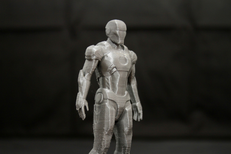 Iron Man Mark 7 3D Print 25016