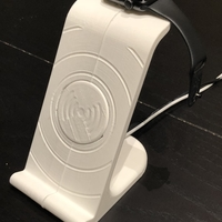 Small $10 IPhoneX Wireless Charging Stand 3D Printing 25020