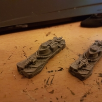 Small Pilger Class Frigate 3D Printing 25051