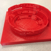 Small Roman Colosseum  3D Printing 25056