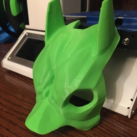 Small Bat Beagle Mask 3D Printing 25110
