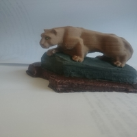 Small Nittany Lion Statue 3D Printing 25156