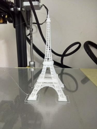 Eiffel Tower #SeeTheWorld 3D Print 25176