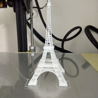 Small Eiffel Tower #SeeTheWorld 3D Printing 25176