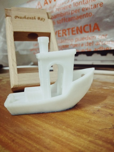 #3DBenchy - The jolly 3D printing torture-test 3D Print 25179