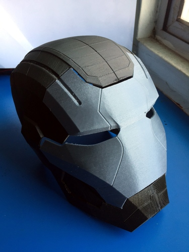 Iron Patriot Helmet (Iron Man) 3D Print 25193