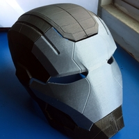 Small Iron Patriot Helmet (Iron Man) 3D Printing 25193