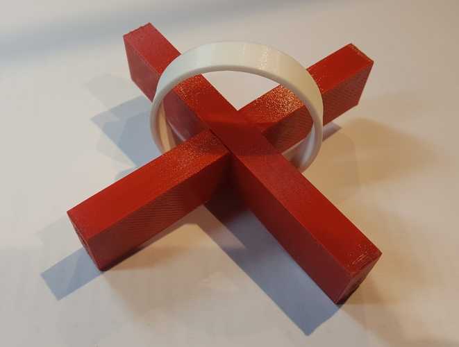 The Impossible puzzle 3D Print 25196