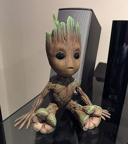 baby groot with base 3D Print 25218