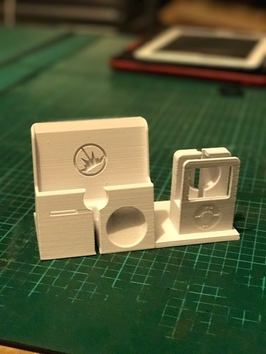 iPhone 7 Plus and Apple watch 42mm Stand (iPod Style) 3D Print 25277