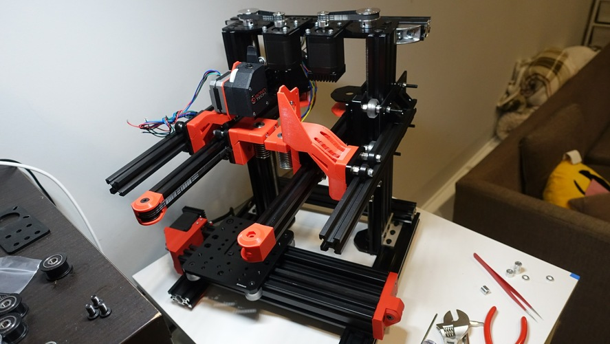 Cartesian flying extruder 3D Print 25289