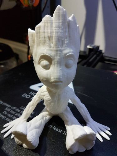baby groot with base 3D Print 25302