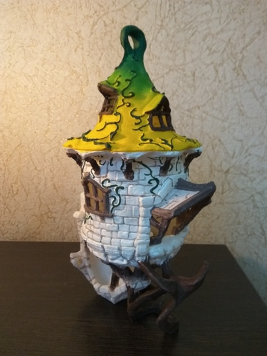 BIRDHOUSE - 3 PIECES 3D Print 25316