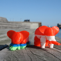 Small Elephant 3D Printing 2533