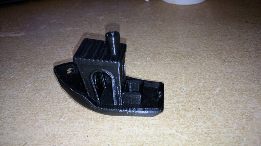 #3DBenchy - The jolly 3D printing torture-test 3D Print 25388