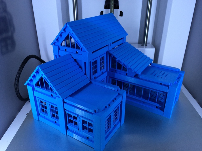 ​Printable Architectural Kit Series 2 3D Print 254
