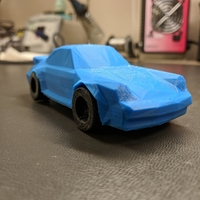 Small Low-Poly 911 Turbo 3D Printing 25412