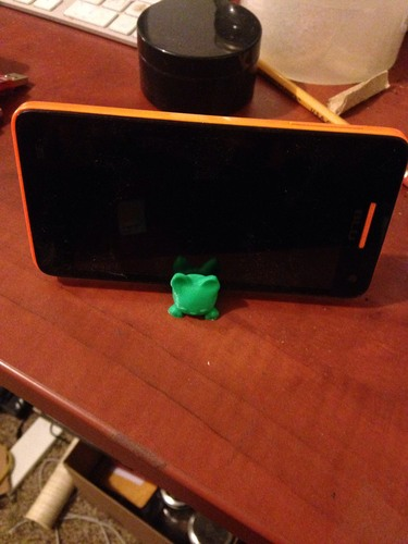 Keichain / Smartphone Stand Cat 3D Print 25480
