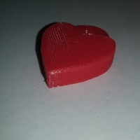 Small Heart Locket Slic3r Friendly 3D Printing 25489