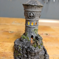 Small Forbidden Watchtower 3D Printing 25496