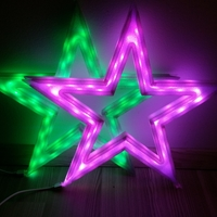Small Vega - The LED-lit Christmas Star 3D Printing 25525