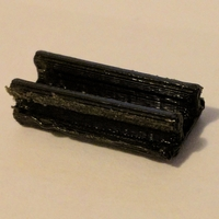 Small Parametric 8020 cable clip 3D Printing 25547