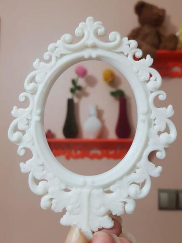 Baroque Picture Frame  3D Print 25598