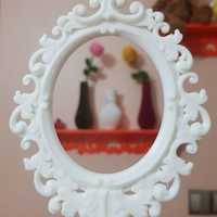 Small Baroque Picture Frame  3D Printing 25598