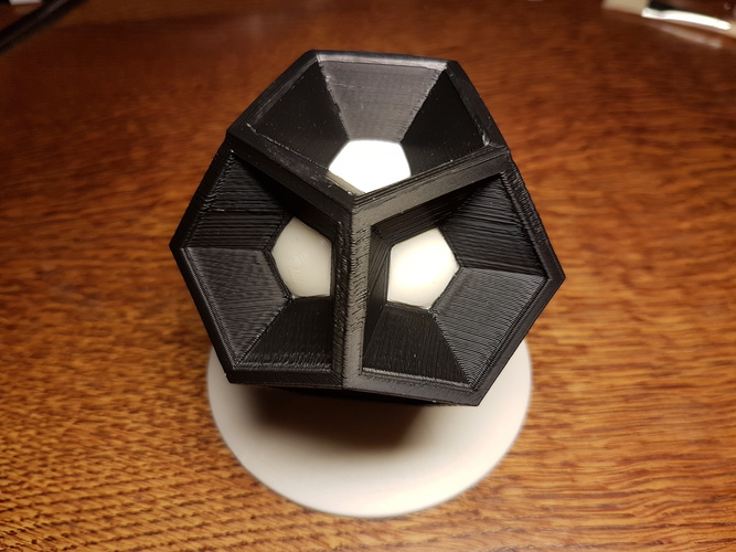 Dodecahedron 3D Print 25666