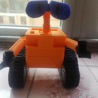 Small WALL-e  ( cut into parts ) 3D Printing 25684