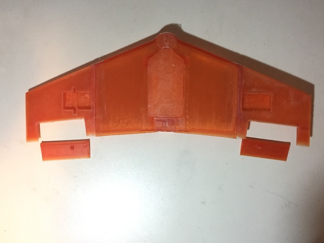 Fully Printed Flying Wing 3D Print 25707
