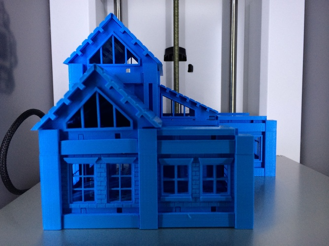 ​Printable Architectural Kit Series 2 3D Print 258