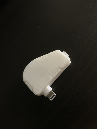 Apple Lightning To Headphone Cable Protector 3D Print 25876