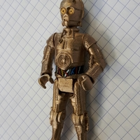 Small C3PO 3D Printing 25963