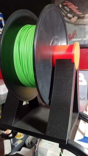 Filament  holder for (above) CTC Bizer printer 3D Print 26012