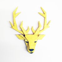 Small Deer Brooch 3D Printing 26040