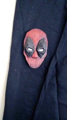 Deadpool brooch 3D Print 26042